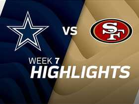 Watch: Cowboys vs. 49ers highlights | Week 7