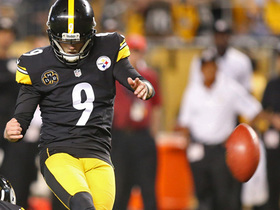 Boswell sets Heinz Field record with his fifth field goal of game