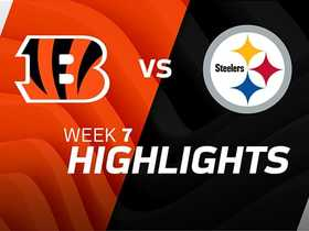 Bengals vs. Steelers highlights | Week 7