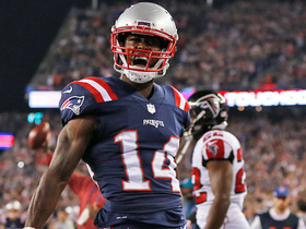 Watch: Follow the leader! Gronk clears way for Cooks on opening TD