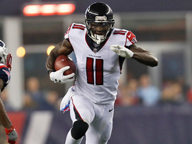 Julio Jones becomes second fastest player to get 8,000+ receiving yards