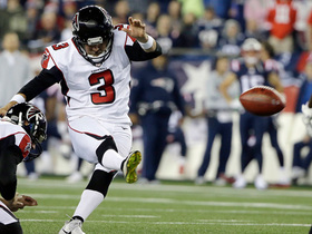 Matt Bryant's 36-yard field goal ricochets off upright
