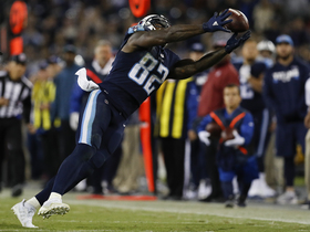 Rapoport: Delanie Walker suffered sprained right ankle on Sunday