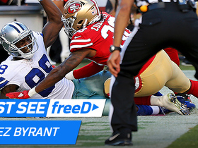 Watch: freeD: Dez Bryant record-tying tip-toe TD catch.
