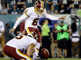 Watch: Nick Rose sinks first career field goal