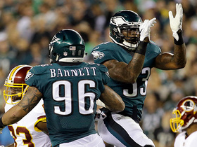 Watch: Derek Barnett burns Jordan Reed for sack
