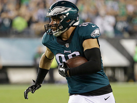Watch: Zach Ertz hauls in huge 46-yard catch