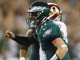 Watch: Are Eagles now Super Bowl favorites after dominant MNF win?