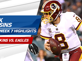 Watch: Kirk Cousins highlights | Week 7
