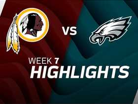 Redskins vs. Eagles highlights | Week 7