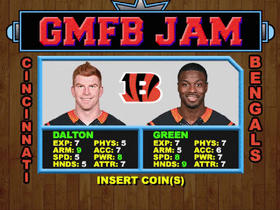 How good would the Bengals be in 'NBA Jam' format?