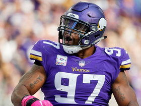 How is Everson Griffen prepping for London?