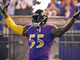 Watch: Terrell Suggs gets hyped up before TNF