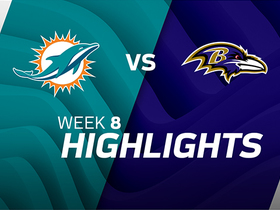 Dolphins vs. Ravens highlights | Week 8