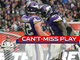 Watch: Can't-Miss Play: Kyle Rudolph wows London crowd with toe-tap TD