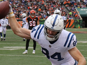 Jack Doyle gets up to make TD grab over safety Shawn Williams