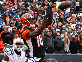 A.J. Green makes it look easy on TD pass from Andy Dalton