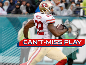 Can't-Miss Play: C.J. Beathard shovels it to Matt Breida for a 21-yard touchdown