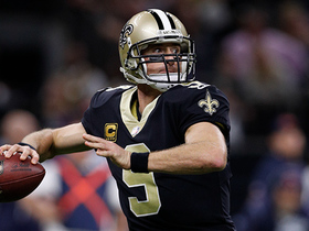 Brees becomes third player in history to reach 6,000 completions