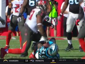 McCoy explodes through Panthers' line to shut down Artis-Payne