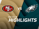 Watch: 49ers vs. Eagles highlights | Week 8