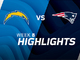 Watch: Chargers vs. Patriots highlights | Week 8