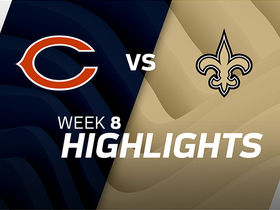 Bears vs. Saints highlights | Week 8