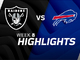 Watch: Raiders vs. Bills highlights | Week 8