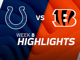 Colts vs. Bengals highlights | Week 8