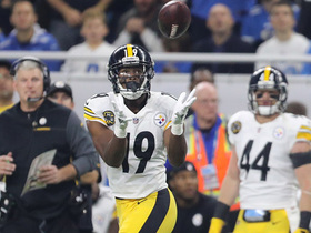 Big Ben fires to JuJu for 41-yard gain on first throw of the game