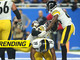 Watch: Puttin' in work! Bell leads Steelers bench-press celebration after TD