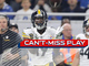 Watch: Can't-Miss Play: JuJu SCORCHES D for 97-yard TD, longest Steelers pass play EVER