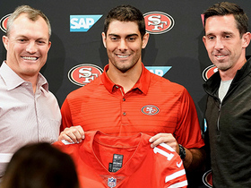 Rapoport: Franchise tag will be Garoppolo's 'friend' with 49ers