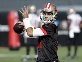 Rapoport: 49ers don't want to rush Garoppolo onto the field