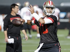 Are 49ers making a smart decision by not starting Jimmy Garoppolo?