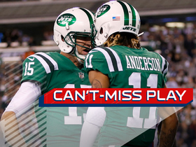 Watch: Can't Miss Play: McCown pinpoints Robby Anderson for deep TD