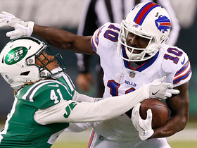 Tyrod Taylor drops a 26-yard DIME to Deonte Thompson for TD