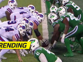 Watch: Bills literally snap the ball from goal line on odd TD play