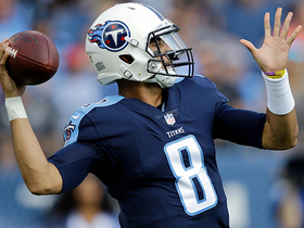 Marcus Mariota starts game with 29-yard pass to Rishard Matthews