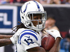 T.Y. Hilton makes smooth sideline catch for 30 yards