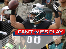 Watch: Can't-Miss Play: Wentz pinpoints Trey Burton amid two defenders for TD