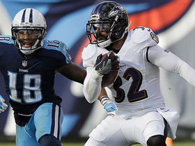 Watch: Marcus Mariota overthrows Rishard Matthews, Eric Weddle gets INT