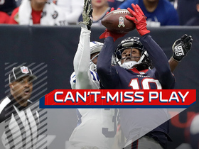 Can't-Miss Play: Savage's first NFL TD pass is 34-yard rainbow to Hopkins