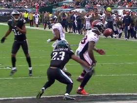 Demaryius Thomas hangs on to bobbled pass for first TD of 2017