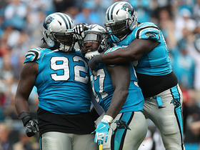 Panthers' defense gets fourth down stop to clinch victory