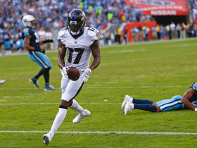 Watch: Flacco hits Wallace for quick-strike TD to come within three points