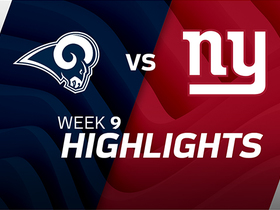 Rams vs. Giants highlights | Week 9