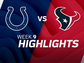 Colts vs. Texans highlights | Week 9