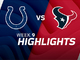 Watch: Colts vs. Texans highlights | Week 9