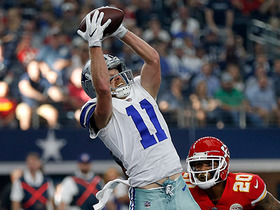 Cole Beasley burns Steven Nelson for first TD of game
